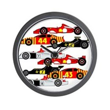 Cute F1 Wall Clock