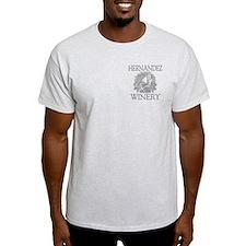 Hernandez Last Name Vintage Winery T-Shirt