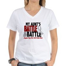 My Battle Too 1 PEARL WHITE (Aunt) Shirt