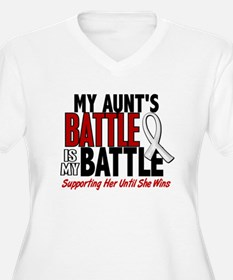 My Battle Too 1 PEARL WHITE (Aunt) T-Shirt