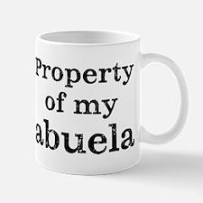 Property of abuela Mug