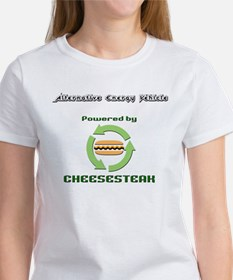 Powered by Cheesesteak Women's T-Shirt