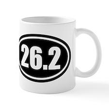 26.2 Marathon 262 oval Mug