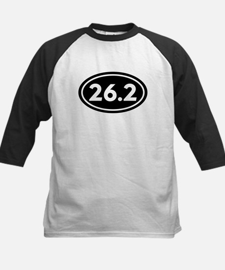 26.2 Marathoner 262 Oval Kids Baseball Jersey