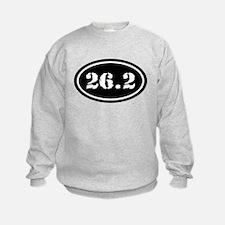 26.2 Oval Marathon Runner Sweatshirt
