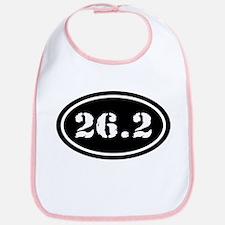 26.2 Oval Marathon Runner Bib