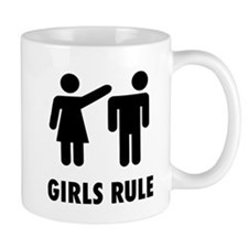 Girls Rule Mug