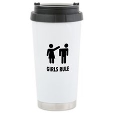 Girls Rule Travel Mug