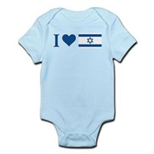 I Heart Israel Infant Bodysuit