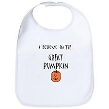 i believe in the great pumpki Bib