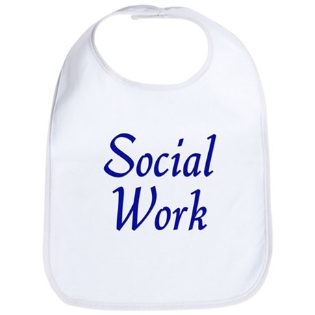 Social Work (blue) Bib