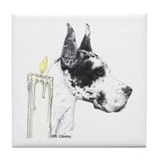 CH Candle Tile Coaster