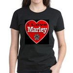 I Love Marley Women's Dark T-Shirt