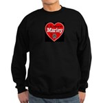I Love Marley Sweatshirt (dark)