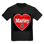 I Love Marley Kids Dark T-Shirt