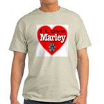 I Love Marley Light T-Shirt