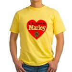 I Love Marley Yellow T-Shirt