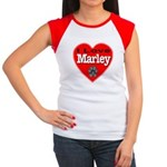 I Love Marley Women's Cap Sleeve T-Shirt