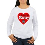 I Love Marley Women's Long Sleeve T-Shirt