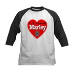 I Love Marley Kids Baseball Jersey