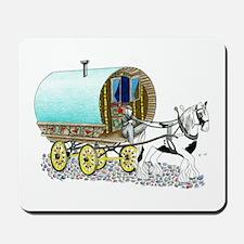 Gypsy Wagon Mousepad