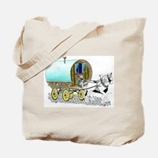 Gypsy Wagon Tote Bag
