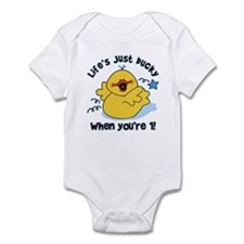 Life's Ducky 1st Birthday Infant Bodysuit