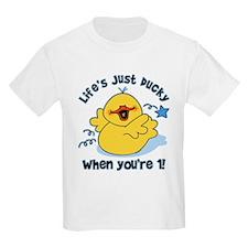 Life's Ducky 1st Birthday T-Shirt