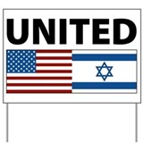 America for israel Yard Signs
