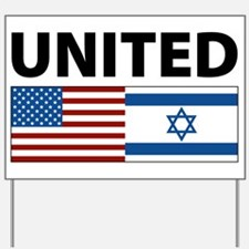 United Yard Sign