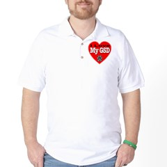 I Love My GSD T-Shirt