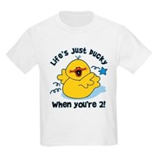 Life's Ducky 2nd Birthday T-Shirt