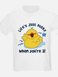 Life's Ducky 3rd Birthday T-Shirt