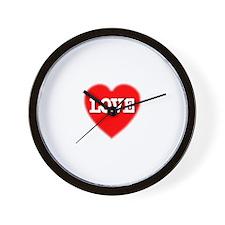 Great LOVE Heart Petite Wall Clock