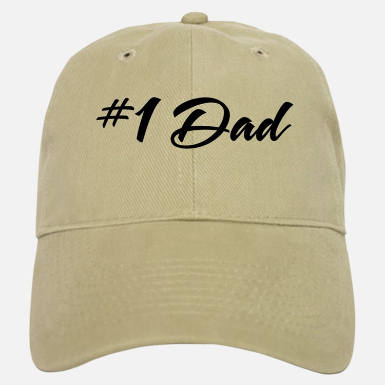 Number One Dad Baseball Baseball Cap