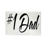 Number One Dad Rectangle Magnet (10 pack)