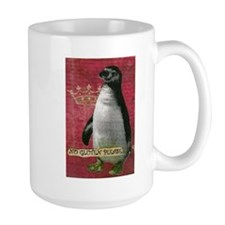 No Gluten Please Penquin Mug