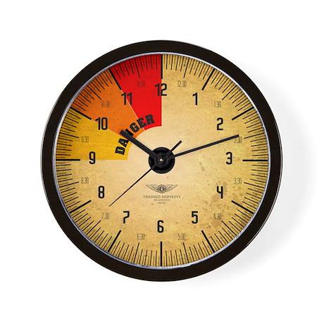 Pressure Gauge Wall Clock (ye old)
