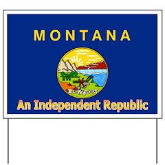 Montana-4 Yard Sign