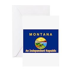 Montana-4 Greeting Card