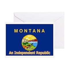 Montana-4 Greeting Cards (Pk of 20)