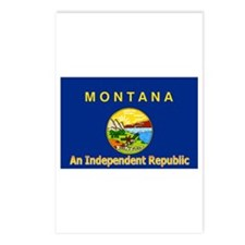 Montana-4 Postcards (Package of 8)