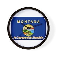 Montana-4 Wall Clock