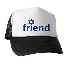 Friend of Israel Trucker Hat