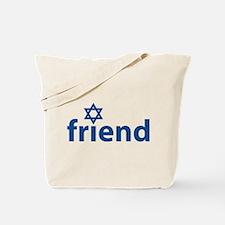 Friend of Israel Tote Bag