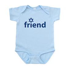 Friend of Israel Infant Bodysuit