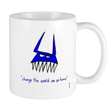 Blue Monster Small Mug
