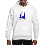 Blue Monster Hooded Sweatshirt