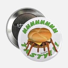 """Spider Burger 2.25"""" Button (10 pack)"""