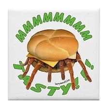 Spider Burger Tile Coaster